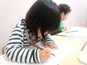 富田縁くまぐみ硬筆2